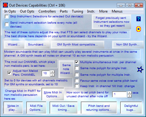 Out Devices Capabilities